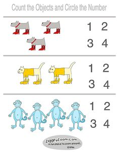 pre k math worksheets sugar spice and monkey tales worksheet carnival - Free Printable Activities For Kindergarten