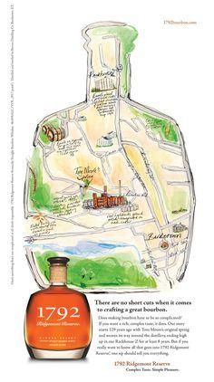 1792 Bourbon by John Schulz, via Behance