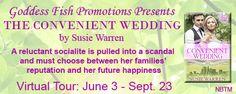 The Convenient Wedding Book Tour @susiecwarren @GoddessFish - http://roomwithbooks.com/the-convenient-wedding-book-tour/