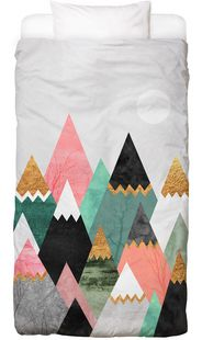 Pretty Mountains - Elisabeth Fredriksson - Bed Linen
