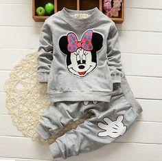 TZ363, rojo De Navidad Bebés bebé ropa de las muchachas de los chándales de la historieta + pants 2 unids kids boy ropa Niños sistema…