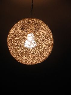 Love this edison bulb and wire lamp shade look repurposed hemp light etsy keyboard keysfo Gallery