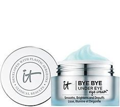 Discover IT Cosmetics' Bye Bye Under Eye Eye Cream. Our eye cream brightens the under eye area to make you look well rested. Say bye bye to tired eyes! Bye Bye, It Cosmetics, Anti Aging Treatments, Eye Treatment, Skin Treatments, Anti Aging Cream, Anti Aging Skin Care, Prevent Wrinkles, Homemade Skin Care