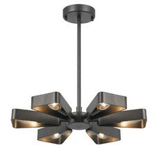 Buy Inspire 5 Light Black Chandelier At Argos Co Uk Your