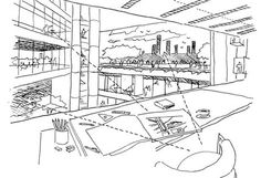 Norman Foster, from the Architect's Sketchbook