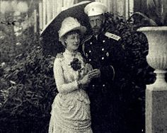Grand Duchess Elisabeth and Grand Duke Sergei