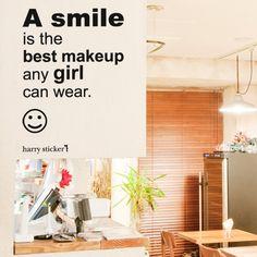 ウォールステッカー wallsticker smile-message