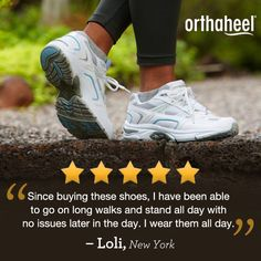 Have Plantar Fasciitis? Our customers love the Orthaheel Action Walker, podiatrist-designed to help relieve heel pain. You'll also love Vionic with Orthaheel Technology shoes, sandals, boots, flats, clogs, slippers and more.