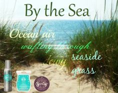 By the Sea: the scent of ocean air wafting through dewy, seaside grass.