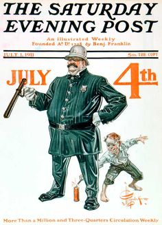 Fourth of July, 1911 – J.C. Leyendecker – July 1, 1911