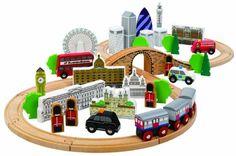 Tidlo T-0099 - City of London Holzbahnset, Spielwaren