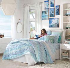beach/summer bedroom for teens