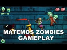 Jugando Matando Zombies Gameplay