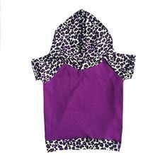 purple cheetah/leopard Light weight Raglan short by Allsnazziedup