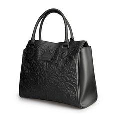 Loungefly Purse Black on Black Lattice Skull Tote Bag