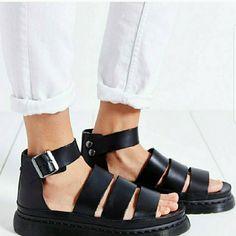 Dr. Martensclarissa Chunky Strap Sandal