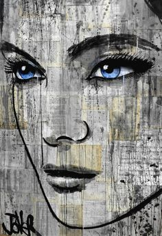 "Saatchi Online Artist: Loui Jover; Ink 2013 Drawing ""danube"""