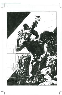 Catwoman by Mike Mignola