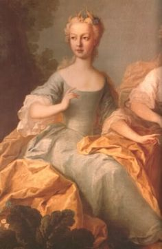 Maria Josepha, daughter of Empress Maria Theresa. Maria Josepha died as teenager from smallpox. The third child of Maria Theresa to die of the disease.