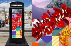 BT ARTBOX  - reinterpretação das cabines de telefone de Londres. pin por Ana Mattos