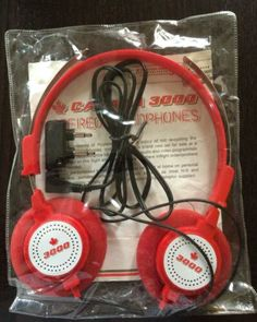 Canada 3000 Headphones Canadian Airlines, All Airlines, Headphones, Canada, Packaging, Personalized Items, Soaps, Transportation, Aviation