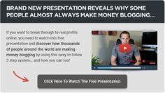 Make money blogging about your passions!
