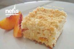 Şeftalili Kremalı Kek ( Çok Farklı )!!!! Tarifi