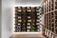 Organized and ready to be opened! Your wine collection can be displayed and stored to suit your needs. If you would like to learn more, complete a wine cellar check list via our website today! Glass Wine Cellar, Wine Cellar Design, Wine Cellars, Wine Glass, Wood Wine Racks, Wine Collection, Construction, Suit, Traditional
