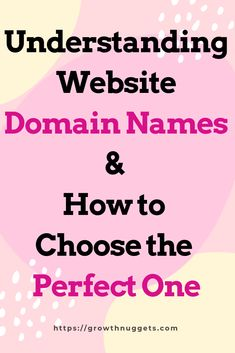 Wondering what website domain names are and how to choose the perfect one for your project? No worries, this post will assist you to make the right choices. I'll admit, choosing a good domain name comes with its own headaches. Domain Name Generator, Domain Name Ideas, Web Domain, Blog Names, Online Income, Are You The One, Gain, Promotion, Blogging