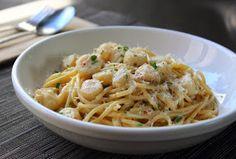 Creamy Bay Scallop Spaghetti – An Almost Perfect Post-Holidays Pasta