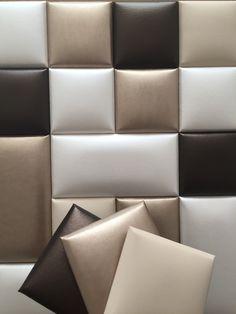 Bed Headboard Design, Diy Tufted Headboard, Headboards For Beds, Luxury Bedroom Design, Bedroom Bed Design, Bedroom Decor, Living Room Partition Design, Room Partition Designs, Leather Wall Panels