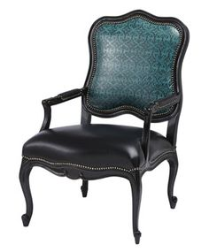 Teal Leather Occasional Chair Color Furniture