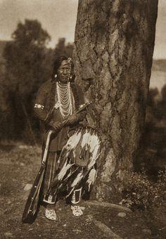Many Bears - Flathead (The North American Indian, v. VII. Norwood, MA: The Plimpton Press, 1911)