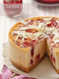 Einfach himmlisch dieser Käsekuchen ❤️ Cheesecake-Rezept mit Himbeeren | Zeit: 40 Min. | http://eatsmarter.de/rezepte/himbeer-kaesekuchen-1