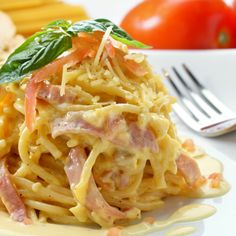 A Yummy Spaghetti Carbonara recipe. �This Delicious meal is a family favorite.. Italian Spaghetti Carbonara Recipe from Grandmothers Kitchen. Follow us on Pinterest.