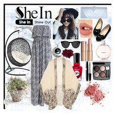 """Maxi Dress with a Stylish Twist"" by strikingbeauty123 ❤ liked on Polyvore featuring moda, Sally Hansen, Anna Sui, GCGme, Charlotte Tilbury, Shin Choi, Chanel, Smoke & Mirrors y maxidress"