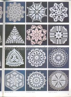 View album on Yandex. Crochet Doily Diagram, Crochet Chart, Crochet Motif, Crochet Doilies, Crochet Stitches, Knit Crochet, Crochet Patterns, Crochet Magazine, Crochet Projects