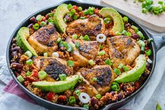 Weeknight Skillet: Spicy Mexican Chicken + Quinoa for the Whole Family! - Clean Food Crush