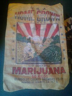 Marijuana bag via @dave