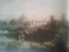 "Sketch by capt R.Elliot from ""Delhi'sHistoricVillages"" book"