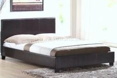 4'6 Haven Brown Double Faux Leather Bed Frame has been published to http://www.discounted-tv-video-accessories.co.uk/46-haven-brown-double-faux-leather-bed-frame/