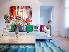Colors, plaster and special lighting - BE Decoration Interior Design Blog, Room Design, Decor, Interior Design, Interior Inspiration, Colorful Interiors, Living Room Color, Home Decor, Swedish Interior Design