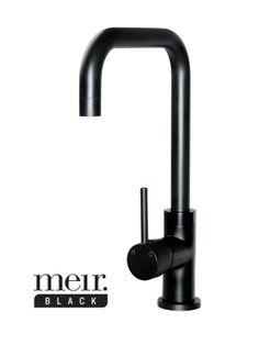 MK02 Matte Black Kitchen Mixer Tap by Meir Australia b