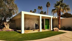 Mid-Century Modern House by Chimay Bleue, via Flickr