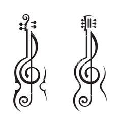 guitar tattoos up the rm - Google Search