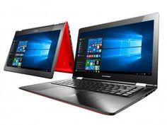 "Notebook 2 em 1 Lenovo Yoga 500 Intel Core i3 4GB - 500GB LCD 14"" Full HD Touch Screen Windows 10"