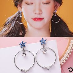 Click to close image, click and drag to move. Use arrow keys for next and previous. Simple Bracelets, Simple Jewelry, Cute Jewelry, Ear Jewelry, Jewelery, Jewelry Accessories, Fashion Accessories, Korean Jewelry, Korean Earrings