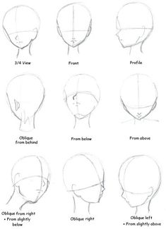 since I struggle the most with head angles. I have pretty much gotten to be able to do 3/4 view and front but my profiles are still crap and I haven't even started practicing the others