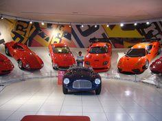 Ferrari Galleria, Maranello, Italy