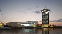 Toren Overhoeks wordt getransformeerd in een multifunctionele toren bestaande uit een observatiepunt, een hotel, een club en diverse horeca waaronder een ronddraaiend restaurant. De toren gaat A'dam heten en is 24/7 geopend voor het publiek.